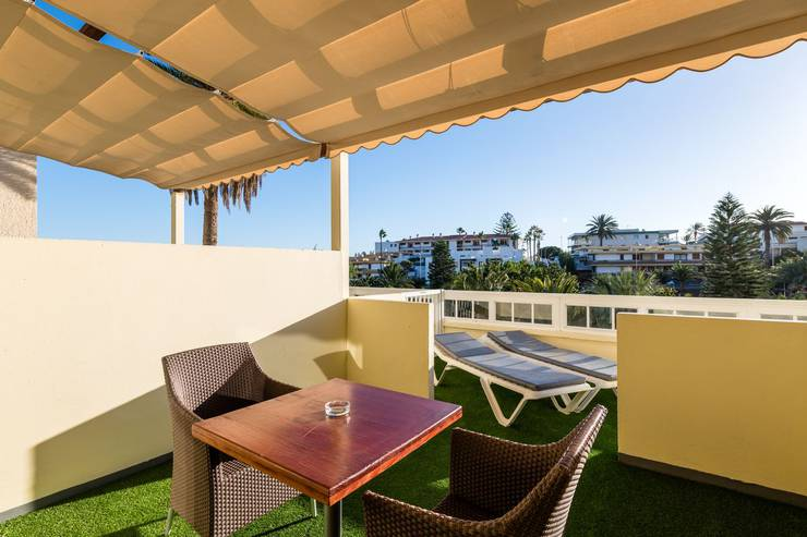 Ground floor accommodation new folias hotel gran canaria