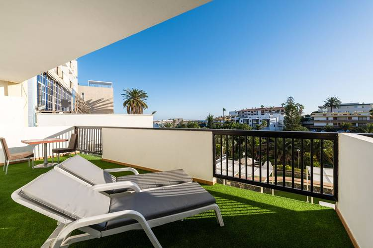 Apartment with double balcony new folias hotel gran canaria